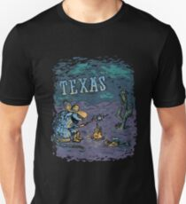 Armadillo In Texas Unisex T-Shirt