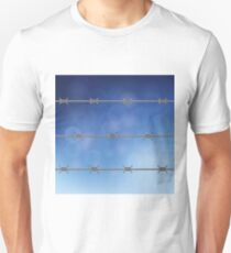 barbed wire fence T-Shirt
