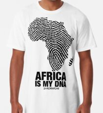 Africa is my DNA Long T-Shirt