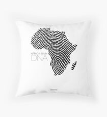 Africa is my DNA Throw Pillow