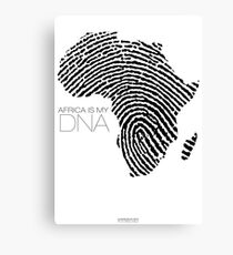 Africa is my DNA Canvas Print