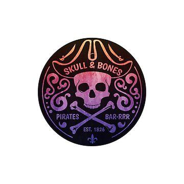 Skull & Bones pirates bar by solelunashop