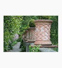 Pots at Bantry House Photographic Print