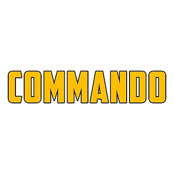 Commando by biggeek