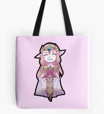 Legend of Zelda: Twilight Princess - Chibi Zelda Tote Bag