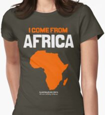 I come from Africa Women's Fitted T-Shirt