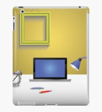 workplace and notebook iPad Case/Skin