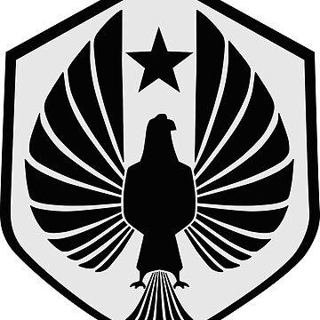 Pan Pacific Defense Corps (dark) by solelunashop