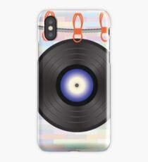 vinyl record iPhone Case/Skin