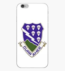 Currahee - 506th Infantry - 101st Airborne  iPhone Case