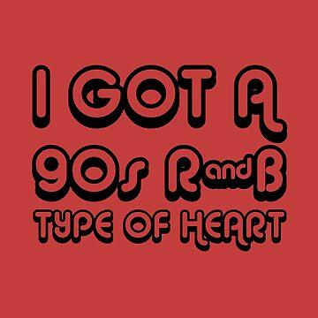 90S R & B HEART de wexler