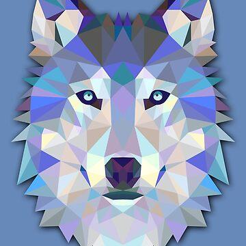 Snow wolf by solelunashop