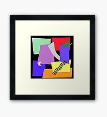 DON'T TOUCH Framed Print