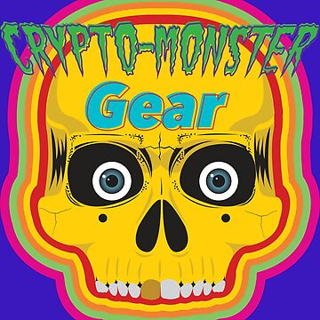 Crypto-Monster Gear Logo by danbru44