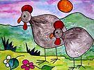 Guineafowl by Elizabeth Kendall