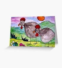 Guineafowl Greeting Card