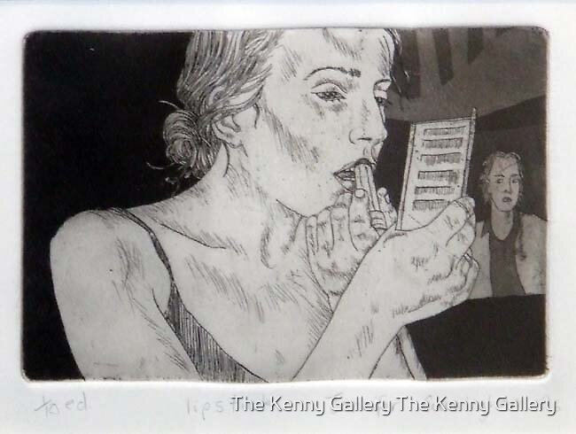 Lipstick  by The Kenny Gallery The Kenny Gallery