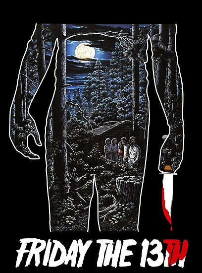 quotfriday the 13th movie posterquot posters by thecreepstore