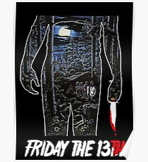 Friday the 13th Movie Poster Poster