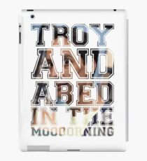Troy and Abed in the Morning - Abed iPad Case/Skin