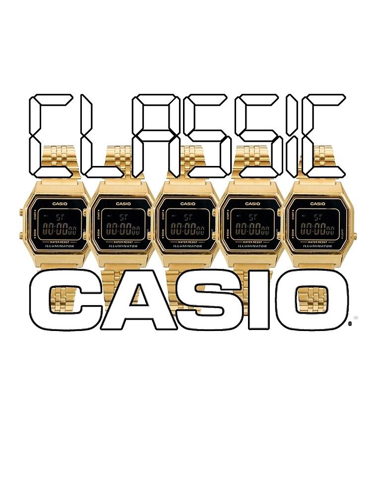 Classic Casio by Livitup