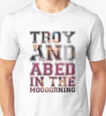 Troy and Abed in the Morning - Troy T-Shirt