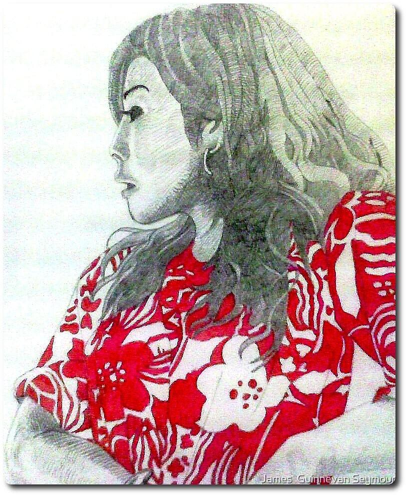 japanese girl by James  Guinnevan Seymour
