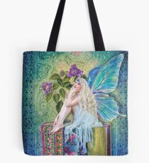 The Little Book Faerie Tote Bag