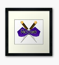 Rogue Role-Play  Framed Print