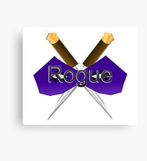 Rogue Role-Play  Canvas Print