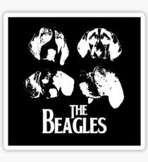 The Beagles (black edition) Sticker
