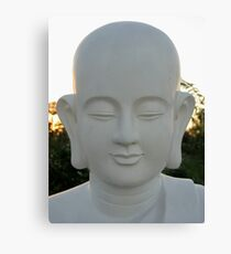 budda' face Canvas Print