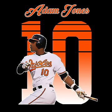 Adam Jones - Baltimore Orioles by haydenburkiit