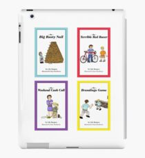 Words from Daddy's Mouth - Books 1 to 4 iPad Case/Skin