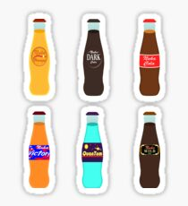 Cola Pack #2: Classic Bottles Sticker