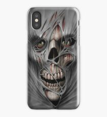 Stitched Torment iPhone Case