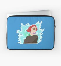 """Paw-t of your world"" The Little mer-pug!  Laptop Sleeve"