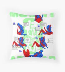 Mount Armbar BJJ T Shirt Throw Pillow