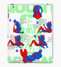 Mount Armbar BJJ T Shirt iPad Case/Skin