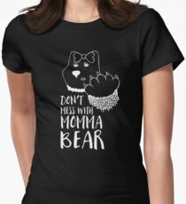 Don't Mess with Momma Bear - White Lines T-Shirt