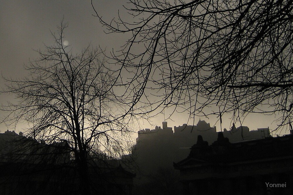 Castle: Shadows and Moonlight by Yonmei