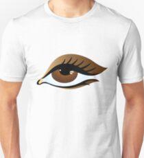 brown eye Unisex T-Shirt