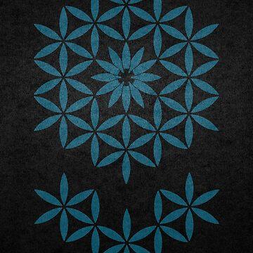 The flower of Life Minimal by RAFAROMAN