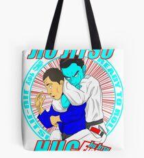 Jiu Jitsu Hug BJJ T Shirt Tote Bag