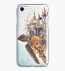 """Ancient City""  By Valerie Flynn iPhone Case/Skin"