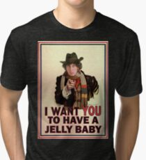 I want you to have a jelly baby Tri-blend T-Shirt