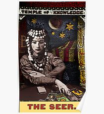 The Seer: from the Tarot of the Zirkus Mägi Poster