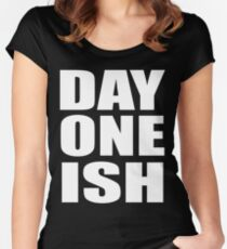 The Usos - Day One-Ish Women's Fitted Scoop T-Shirt