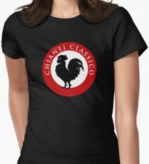 Black Rooster Chianti Classico Women's Fitted T-Shirt