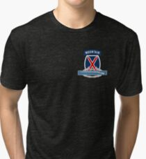 10th Mountain CIB Tri-blend T-Shirt